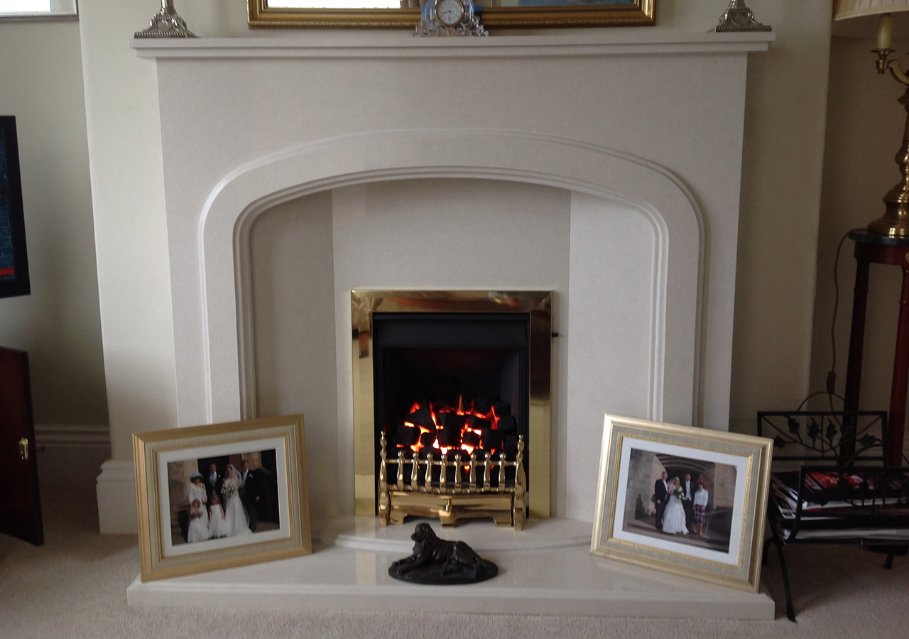 Abbey Surround & Virage Gas Fire