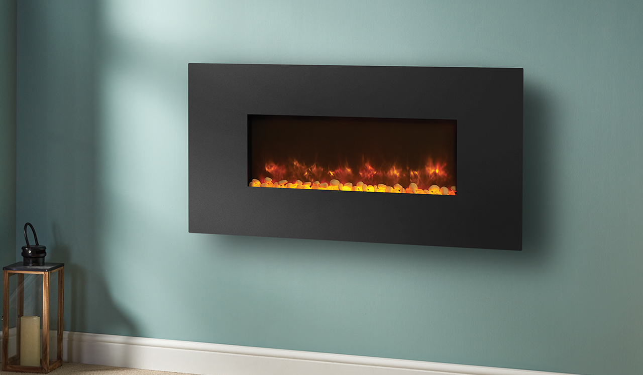 wall hung electric fires  north east  the fire place - radiance steel