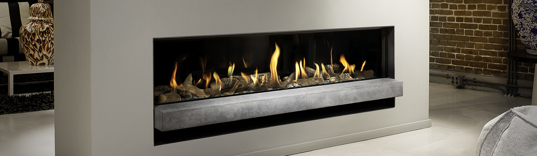 Horizon Bell Fireplace in Durham & Stockton