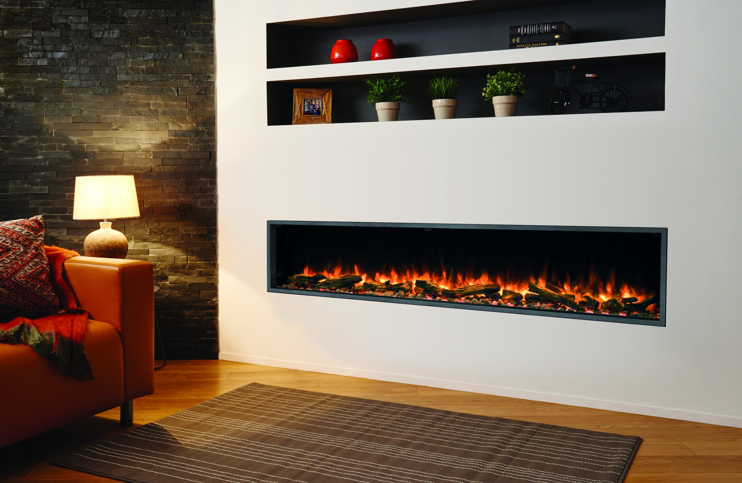 Wall Inset Electric Fires