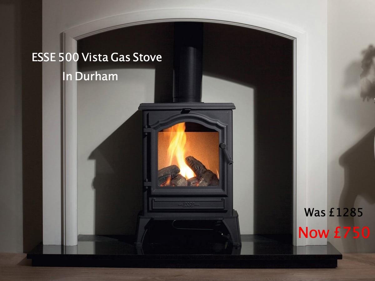 Esse 500 Vista gas stove
